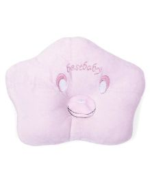 Infant Pillow Best Baby Embroidery - Pink