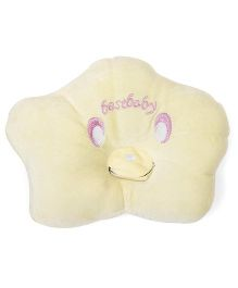 Infant Pillow Best Baby Embroidery - Yellow