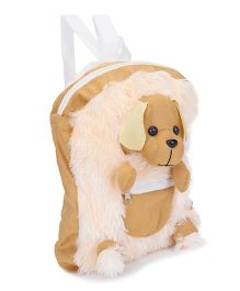 IR Plush School Bag Puppy Design (Color May Vary)