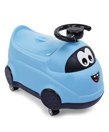 Vehicle Shape Baby Potty Chair - Blue