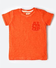MilkTeeth Aloha Tee - Orange