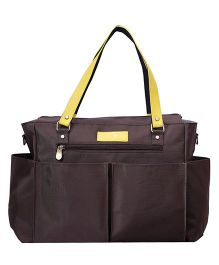 Bohomia Classics Diaper Bag - Brown Yellow