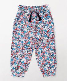 Highflier Floral Print Trouser - Multicolor