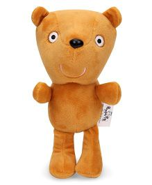 Peppa Pig Peppa's Teddy Plush Soft Toy Brown - Height 19 cm