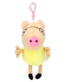 Peppa Pig Pedro Pony Clip On Soft Toy Yellow - 19 cm
