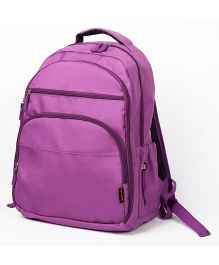 T-Bags Backpack Style Diaper Bag Purple - 16.5 inches
