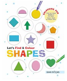 Let's Find & Colour Shapes - English