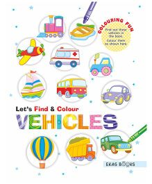 Let's Find & Colour Vehicles - English