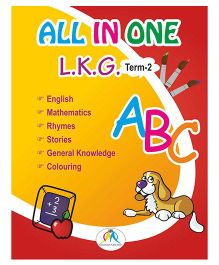 All In One Book For LKG Term 2 - English