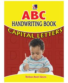 ABC Handwriting Book Capital Letters - English