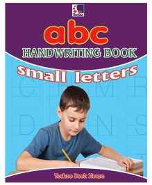 ABC Handwriting Book Small Letters - English