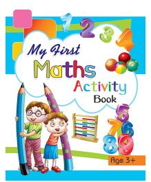 My First Maths Activity Book 3 Years Plus - English