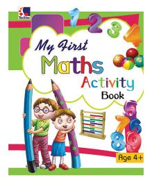 My First Maths Activity Book 4 Years Plus - English