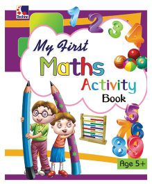 My First Maths Activity Book 5 Years Plus - English