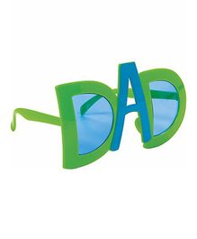 Wanna Party Dad Sunglasses - Green Blue