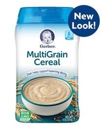 Gerber Multi Grain Cereal - 227 gm