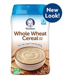 Gerber Whole Wheat Cereal - 227 gm