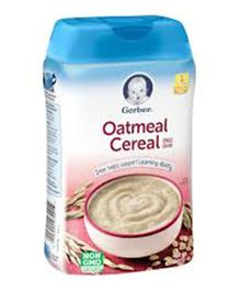 Gerber Oatmeal Cereal - 227 gm