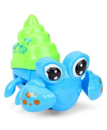 Playmate Cool Crab Wind Up Toy - Blue & Green