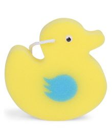 Duck Shape Bath Sponge - Yellow