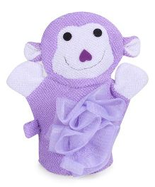 Baby Bath Sponge - Purple