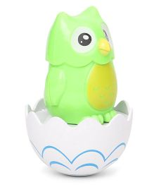 Playmate Owl Tumbler Toy - Green