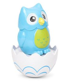 Playmate Owl Tumbler Toy - Blue