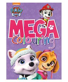 Nickelodeon Paw Patrol Mega Colouring Book - English