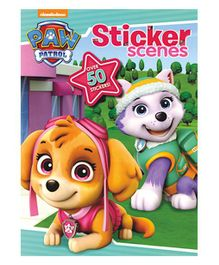 Nickelodeon Paw Patrol Sticker Scenes Book - English