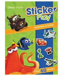 Disney Pixar Sticker Play Adventure Activities - English