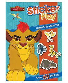 Disney The Lion Guard Sticker Play Roarsome Activities - English