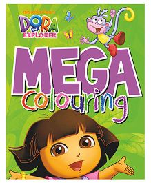 Dora The Explorer Mega Colouring Book - English