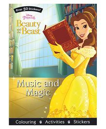 Disney Princess Beauty And The Beast Music And Magic - English