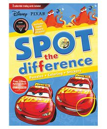 Disney Pixar Spot The Difference Book - English