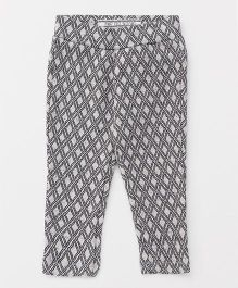 Vitamins Full Length Narrow Fit Trouser - Grey