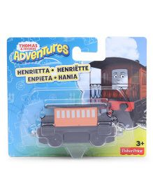 Thomas & Friends Adventures Die Cast Henrietta Small Engine - Black & Orange