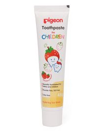 Pigeon Children Toothpaste Strawberry 45 gm - Pack Of 2