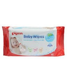 Pigeon Baby Water Base Wipes - Pack of 82 Sheets