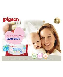 Pigeon Baby Water Base Wipes - Pack of 30 Sheets
