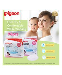 Pigeon Breast Pads Honeycomb - 96 Pieces