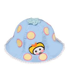 Little Hip Boutique Printed Bucket Cap - Blue