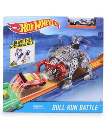 Hot Wheels Blast The Mechanical Bull Race Track Set - Multicolor