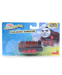 Thomas & Friends Engine Toy Steelworks Hurricane - Brown