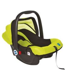Mee Mee Baby Car Seat Cum Carry Cot with Thick Cushioned Seat MM-806C - Green