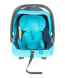 Mee Mee Baby Car Seat Cum Carry Cot with Thick Cushioned Seat MM-806C - Light Blue