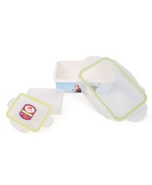 Servewell Disney Frozen Lunch Box Set - Blue