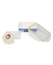 Servewell Avengers Lunch Box Set - Blue