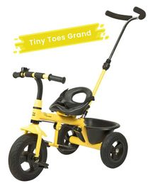 R for Rabbit Tiny Toes Grand The Smart Plug N Play Tricycle - Yellow
