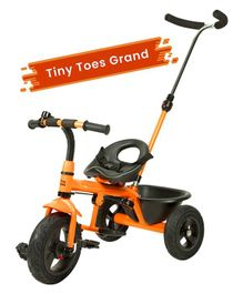 R for Rabbit Tiny Toes Grand The Smart Plug N Play Tricycle - Orange