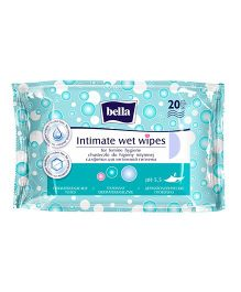 Bella Intimate Care Wet Wipes - 20 Pieces